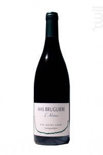 L'arbouse - Mas Bruguière - 2018 - Rouge