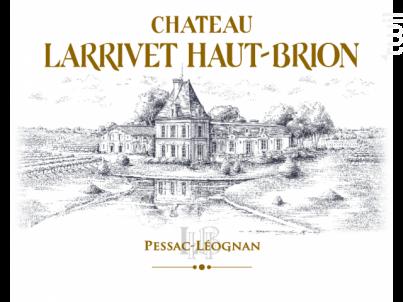 Château Larrivet Haut-Brion - Château Larrivet Haut-Brion - 2012 - Rouge