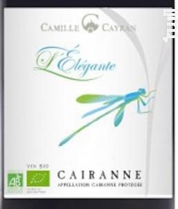 L'Elégante - Cave de Cairanne - 2016 - Rouge