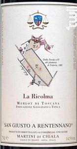 La Ricolma - San Giusto a Rentennano - 2015 - Rouge