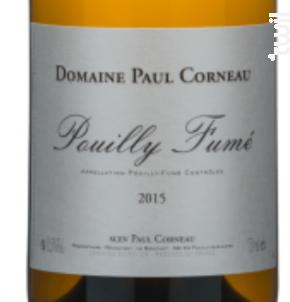 Pouilly Fumé Paul Corneau - Domaine Paul Corneau - 2016 - Blanc