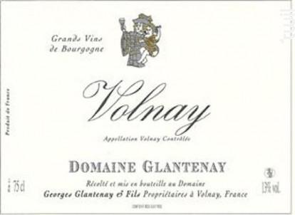 Volnay - Domaine Glantenay Pierre et Fils - 2013 - Rouge