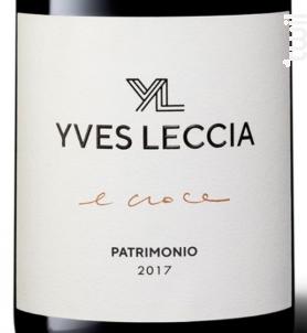 E croce - Yves Leccia - 2017 - Rouge