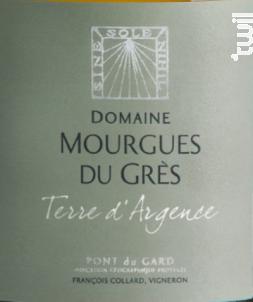 Terre d'Argence Blanc - Château Mourgues du Grès - 2017 - Blanc