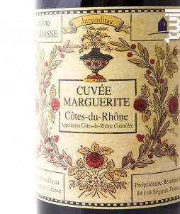 CUVEE MARGUERITE - Domaine de Cabasse - 2018 - Rouge