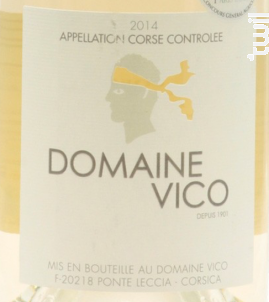 Domaine Vico - Domaine Vico - 2019 - Blanc