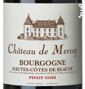 Château de Mercey - Antonin Rodet - 2017 - Rouge
