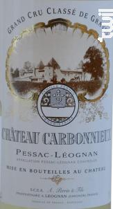 Château Carbonnieux - Château Carbonnieux - 2015 - Blanc