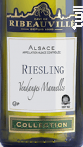 Riesling Collection Casher - Cave de Ribeauvillé - 2018 - Blanc