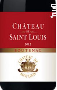 Boutenac - Château de Saint Louis (SCEA) - 2015 - Rouge
