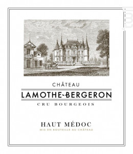Château Lamothe Bergeron - Château Lamothe Bergeron - 2014 - Rouge