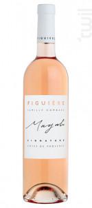 Cuvée signature - Magali - Figuière - 2018 - Rosé