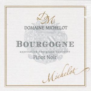 Bourgogne Pinot Noir - Domaine Michelot - 2016 - Rouge