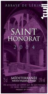 Saint-Honorat - Abbaye de Lérins - 2014 - Rouge