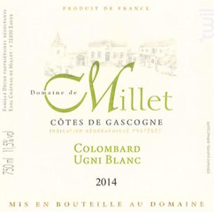 Domaine De Millet - Domaine De Millet - 2012 - Blanc