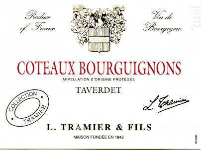 Coteaux Bourguignons - Maison L. Tramier et Fils - 2018 - Blanc