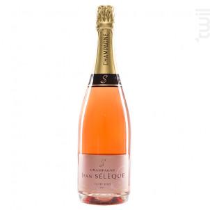 Cuvée Rosé - Champagne Jean Sélèque - Non millésimé - Effervescent