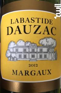 Labastide Dauzac - Château Dauzac - 5e Cru Classé - 2015 - Rouge