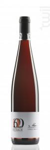 Pinot Noir Schiste - Famille Dietrich - 2018 - Rouge