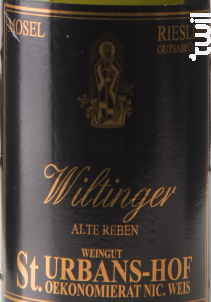 Riesling Wiltinger Alte Reben Trocken - Sankt Urbans-Hof - 2016 - Blanc