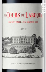 Les Tours de Laroque - Château Laroque - 2018 - Rouge
