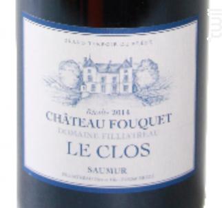 Château FOUQUET Le Clos - Domaine Filliatreau - 2014 - Rouge