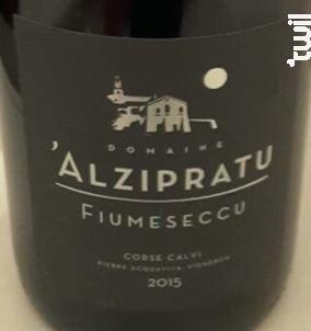 Fiumeseccu - Domaine Alzipratu - 2017 - Rouge