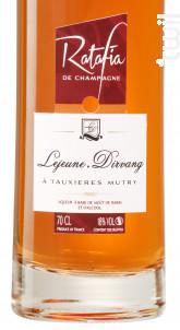 Ratafia de Champagne - Champagne Lejeune-Dirvang - Non millésimé - Effervescent