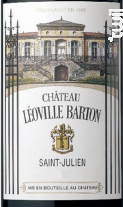 Château Léoville Barton - Château Léoville Barton - 2002 - Rouge