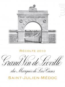 Grand Vin de Léoville du Marquis de Las Cases - Château Léoville Las Cases - 2010 - Rouge