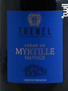 Crème de Myrtille - Trenel - Non millésimé - Rouge