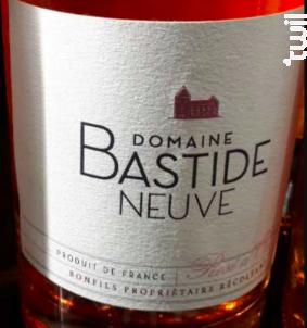 Rosé d'Oc - Domaine Bastide Neuve - 2017 - Rosé