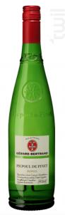 Terroir Picpoul de Pinet - Maison Gérard Bertrand - Cross Serie - Non millésimé - Blanc