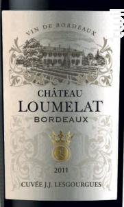 Cuvée J.j. Lesgourgues - Château Loumelat - 2013 - Rouge