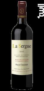 La Sergue - Vignobles Chatonnet - 2012 - Rouge