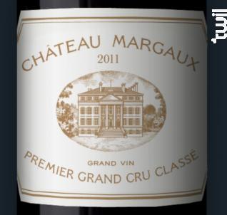Château Margaux - Château Margaux - 2011 - Rouge