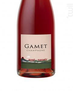 Rosé de Saignée - Champagne Gamet - 2015 - Effervescent