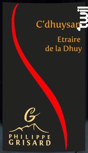 C'Dhuysan - Maison Philippe Grisard - 2019 - Rouge
