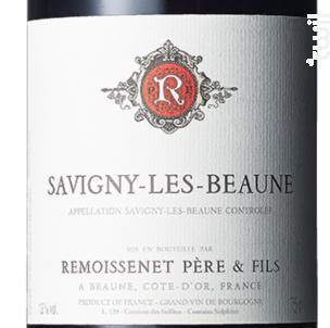 Savigny-Les-Beaune - Remoissenet - 2014 - Rouge