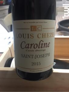 Caroline - Domaine Louis Cheze - 2016 - Rouge