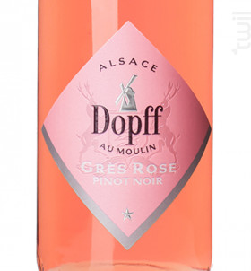Pinot Noir Grès Rose - Dopff Au Moulin - 2017 - Rosé