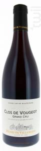 Clos-de-Vougeot Grand Cru - Henri de Villamont - 2012 - Rouge