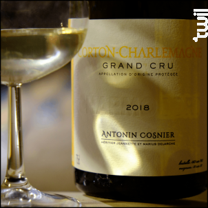 Corton-Charlemagne - Charmocort - Maison Antonin Cosnier - 2018 - Blanc