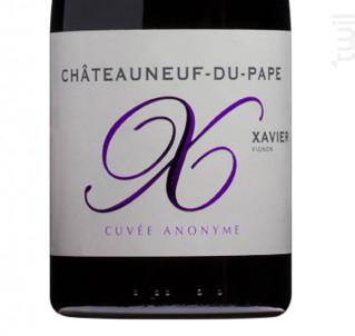 Cuvée Anonyme - Xavier Vignon - 2016 - Rouge