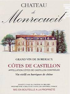 Château de Monrecueil - Château de Belcier - 2011 - Rouge
