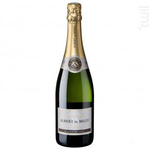 Prestige - Millésime 2009 - Champagne Albert De Milly - 2009 - Effervescent
