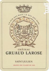 Château Gruaud Larose - Château Gruaud-Larose - 2015 - Rouge