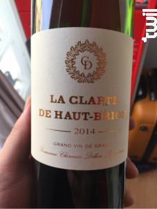 La Clarté de Haut-Brion - Domaines Clarence Dillon- Château Haut-Brion - 2018 - Blanc