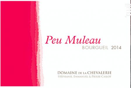 Peu Muleau - Domaine de la Chevalerie - 2015 - Rouge