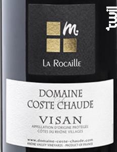 La Rocaille - Domaine de Coste Chaude - 2012 - Rouge